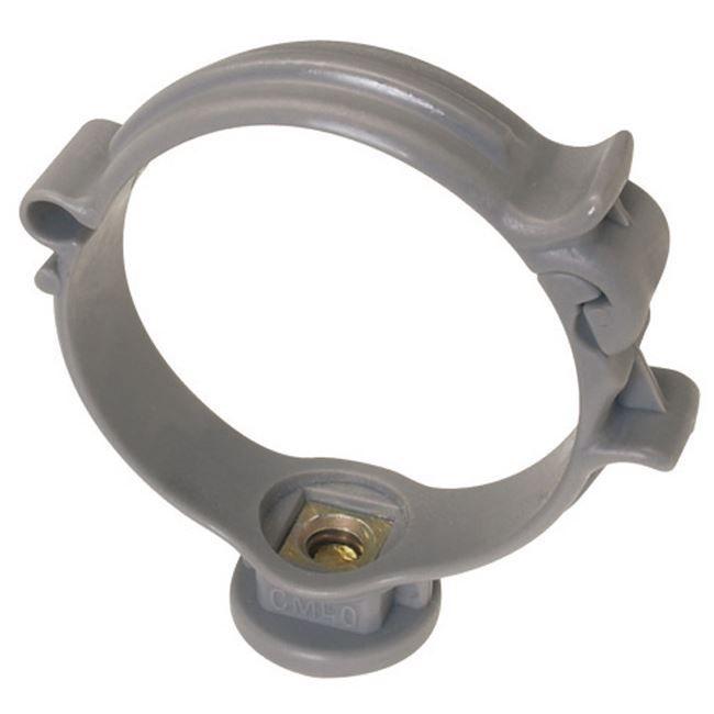 collier de fixation gris pour tuyau pvc 50 achat vente serrage cdiscount. Black Bedroom Furniture Sets. Home Design Ideas