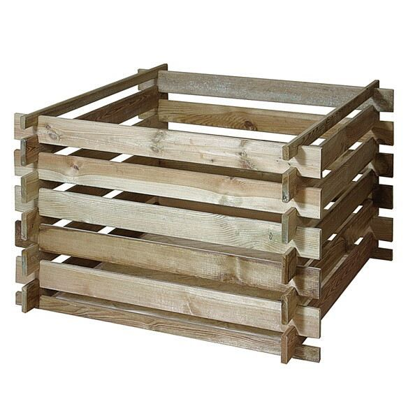 bac compost en bois primo achat vente composteur. Black Bedroom Furniture Sets. Home Design Ideas