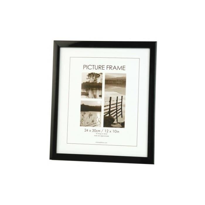 Cadre photo bord noir pour photo 60x80 achat vente cadre photo cdiscount - Cadre photo 60x80 ...