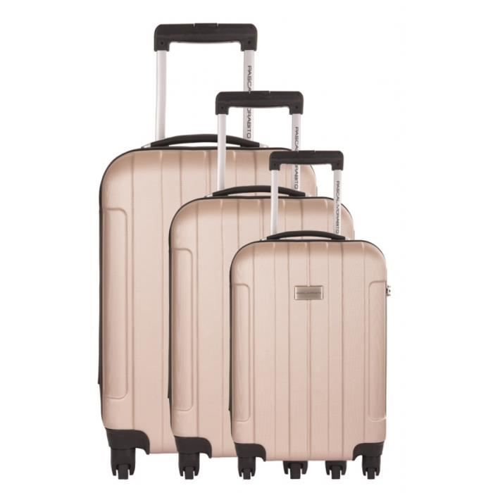 pascal morabito ensemble de 3 valises homme achat vente set de valises 3607070539903 cdiscount. Black Bedroom Furniture Sets. Home Design Ideas