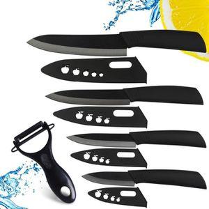set de 6 couteaux ceramique achat vente set de 6 couteaux ceramique pas cher cdiscount. Black Bedroom Furniture Sets. Home Design Ideas