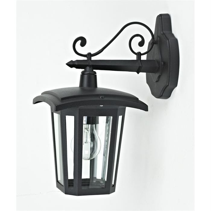 applique descendante vago noire e27 60w achat vente applique descendante vago fonte d. Black Bedroom Furniture Sets. Home Design Ideas