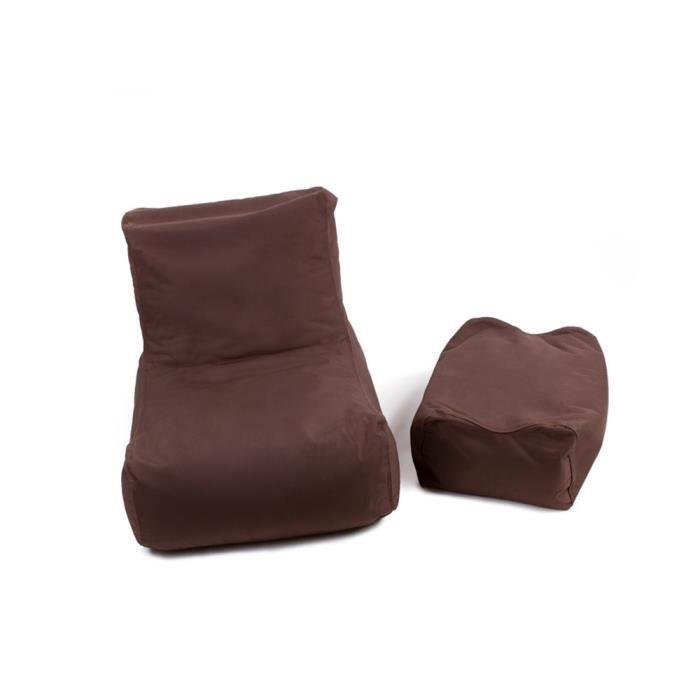 pouf lazy achat vente pouf poire 100 polyester pvc tissu les soldes sur cdiscount. Black Bedroom Furniture Sets. Home Design Ideas