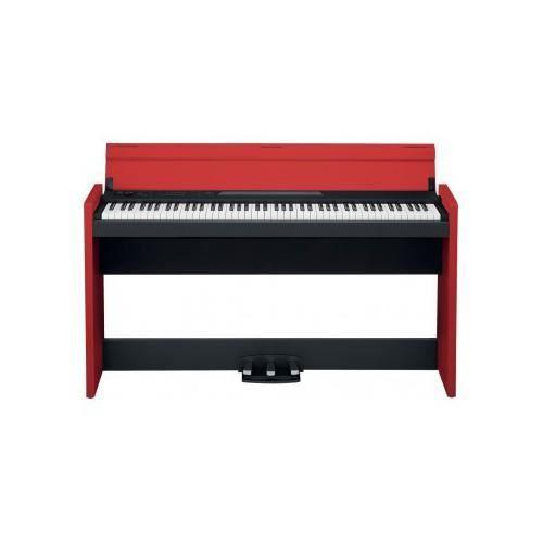 korg lp380 bkrd piano num rique noir rouge achat. Black Bedroom Furniture Sets. Home Design Ideas