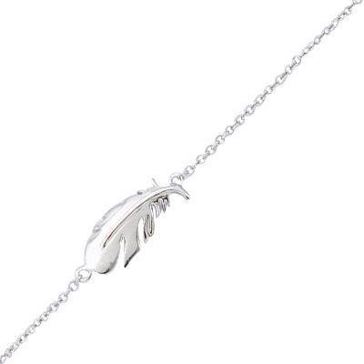 bracelet 16 2 cm plume oiseau argent achat vente bracelet gourmette bracelet 16 2 cm plume. Black Bedroom Furniture Sets. Home Design Ideas