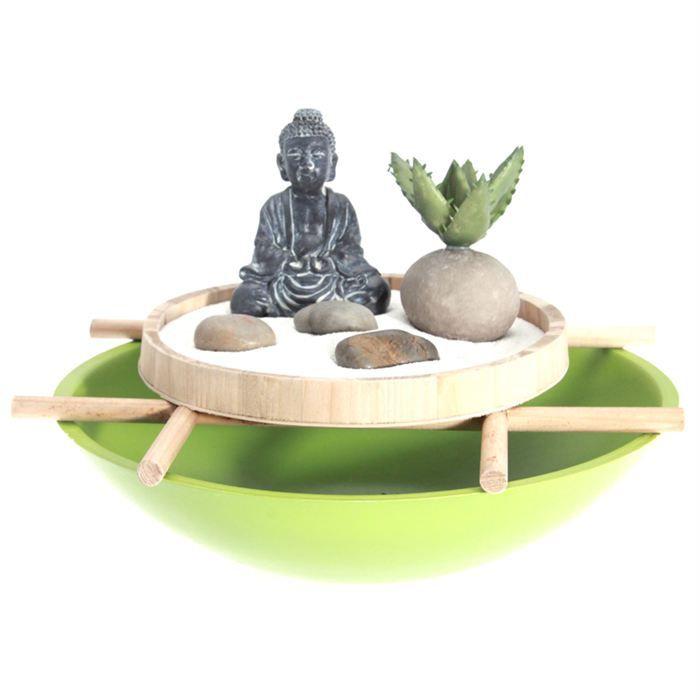 Jardin zen rond vert achat vente jardin japonais for Achat jardin japonais