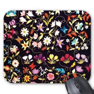 tapis de souris personnalis fleurs ref 2244 prix pas. Black Bedroom Furniture Sets. Home Design Ideas