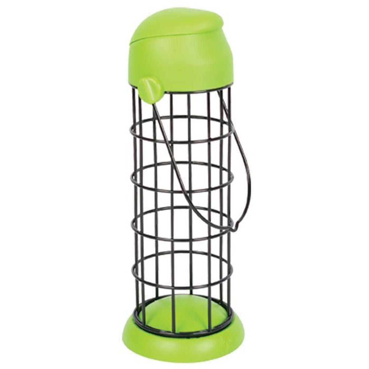 Mangeoire boule de graisse oiseaux achat vente for Boule lumineuse jardin pas cher