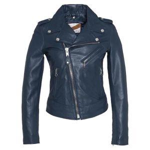 perfecto cuir bleu achat vente perfecto cuir bleu pas. Black Bedroom Furniture Sets. Home Design Ideas