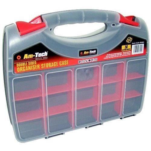 Am tech bo te de rangement double face en plastique - Grande boite de rangement plastique ...