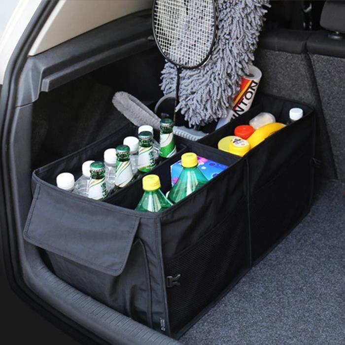 sac de rangement pour voiture auto v hicule pliage robuste pliable et robuste de stockage de. Black Bedroom Furniture Sets. Home Design Ideas