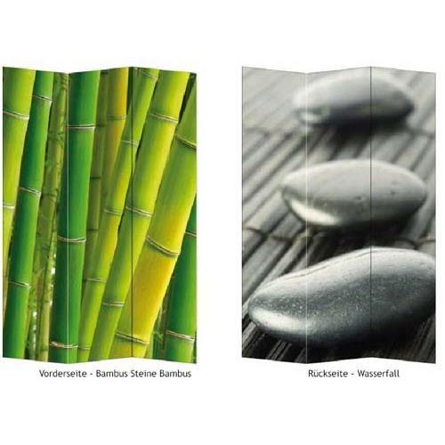 paravent 3 pans cloison s parateur de pi ce achat vente paravent bambou cdiscount. Black Bedroom Furniture Sets. Home Design Ideas