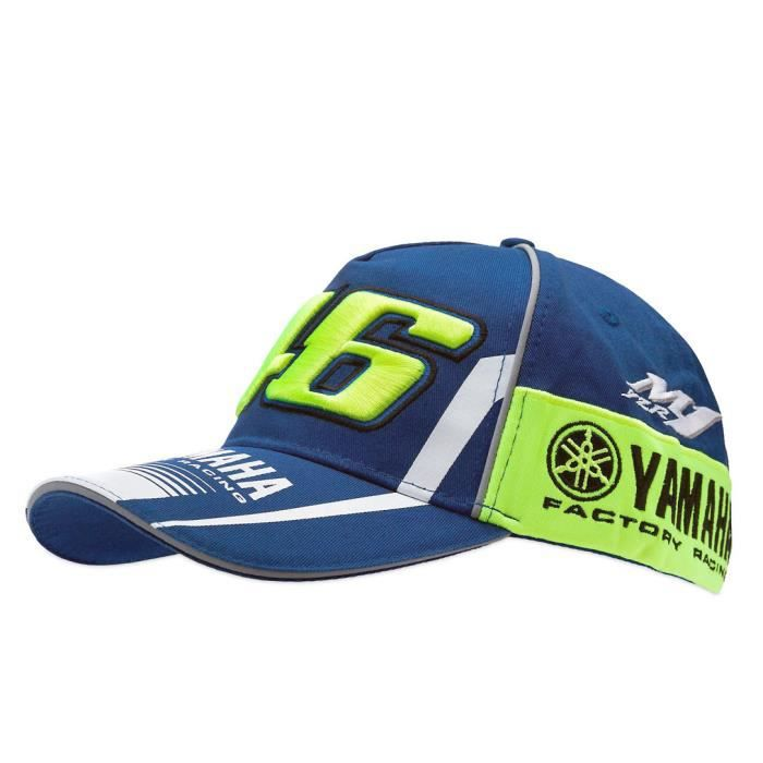 casquette yamaha racing achat vente casquette yamaha racing pas cher cdiscount. Black Bedroom Furniture Sets. Home Design Ideas