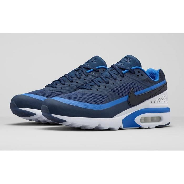 Nike Air Max Bw Blanc Bleu Homme