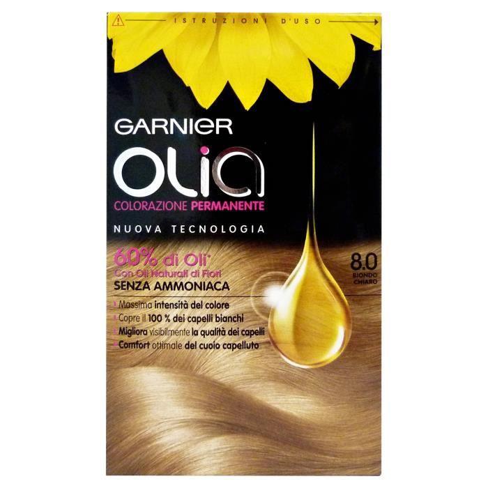 olia 80 blond clair ammoniac gratuit coloration cheveux - Coloration Avec Ammoniaque