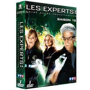 DVD SÉRIE DVD Les experts Las Vegas, saison 12
