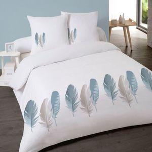 housse de couette plume achat vente housse de couette plume pas cher soldes cdiscount. Black Bedroom Furniture Sets. Home Design Ideas