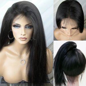 PERRUQUE - POSTICHE 1 piece perruque femme cheveux naturel lisse soft
