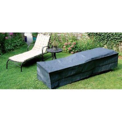 Housse de protection pour bain de soleil achat vente for Housse de protection jardin