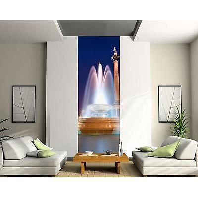 papier peint d 233 co l 233 unique fontaine r 233 f 2080 3 dimensions dimensions 91x260cm achat