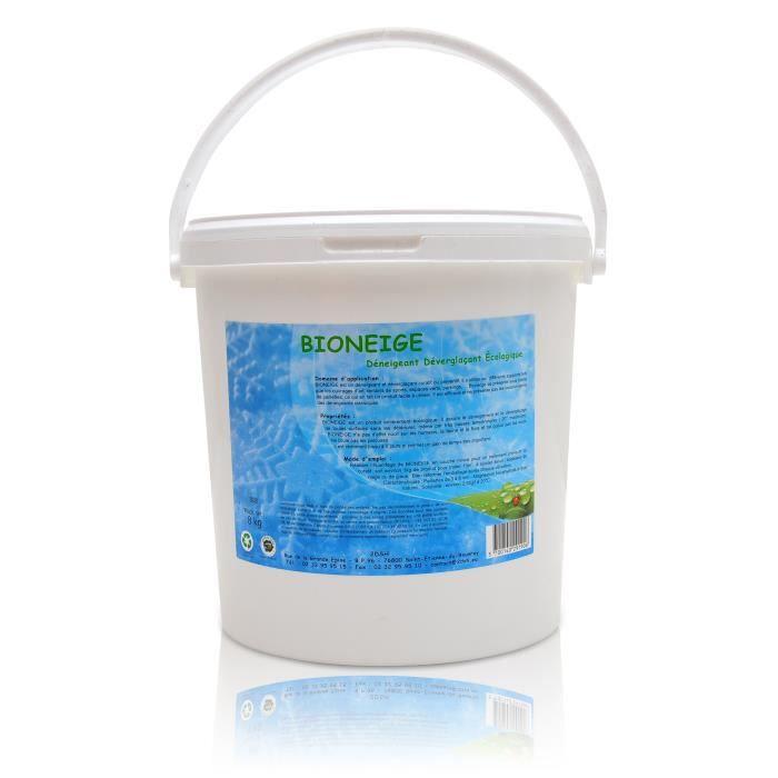 d neigeant d vergla ant ecologique bioneige seau 8 kg achat vente sel de d neigement. Black Bedroom Furniture Sets. Home Design Ideas