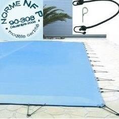 B che d 39 hiver de 580g m pour piscine de achat for Bache piscine hiver