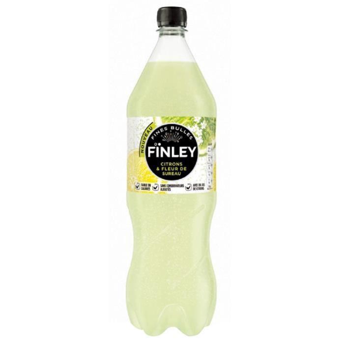 finley citron fleur de sureau 1l achat vente soda th glac finley citron fleur de sureau. Black Bedroom Furniture Sets. Home Design Ideas