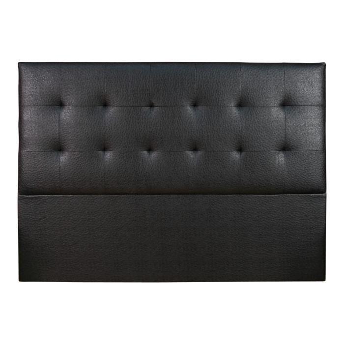 t te de lit cuir selve hauteur 100 cm 3 tailles am pm. Black Bedroom Furniture Sets. Home Design Ideas
