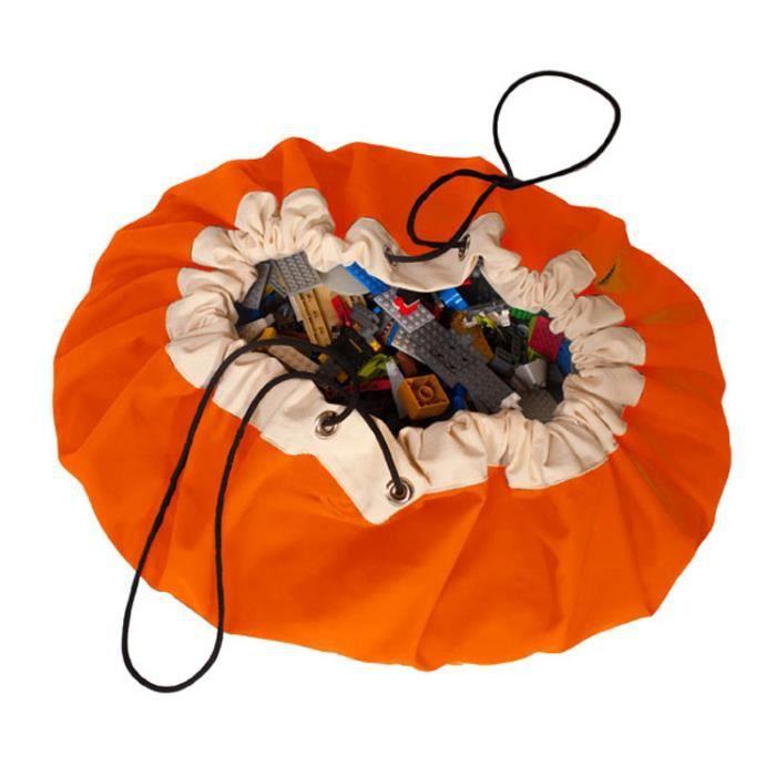 grand sac de rangement enfants jouets sac de rangement de finition toile toile port de faisceau