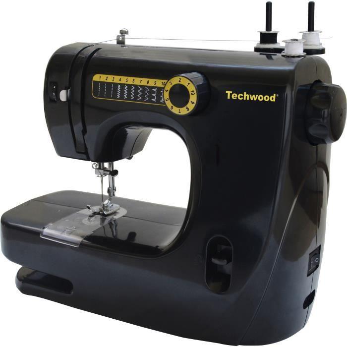 MACHINE À COUDRE TECHWOOD TMAC-906 Machine à coudre noir