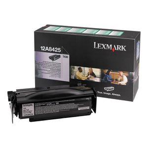 LEXMARK Cartouche toner 12A8425 - Compatible T430 - Noir - Haute capacité 12.000 pages