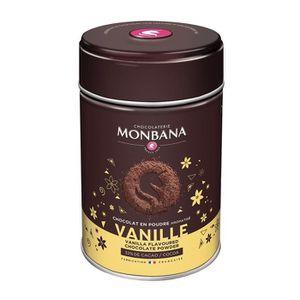 CACAO - CHOCOLAT Chocolat Monbana en poudre arôme Vanille - Boîte 2