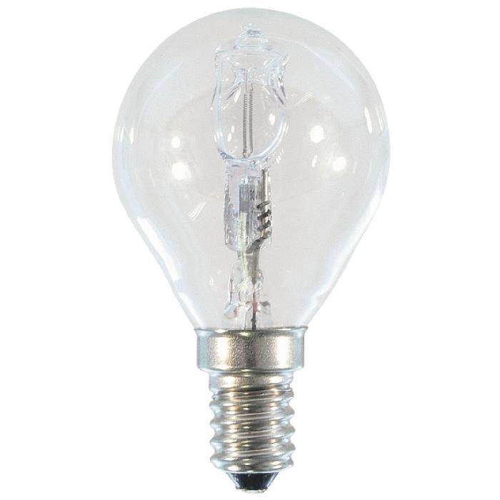 lampe halog ne sph rique e14 ge 235lum 20w com achat. Black Bedroom Furniture Sets. Home Design Ideas