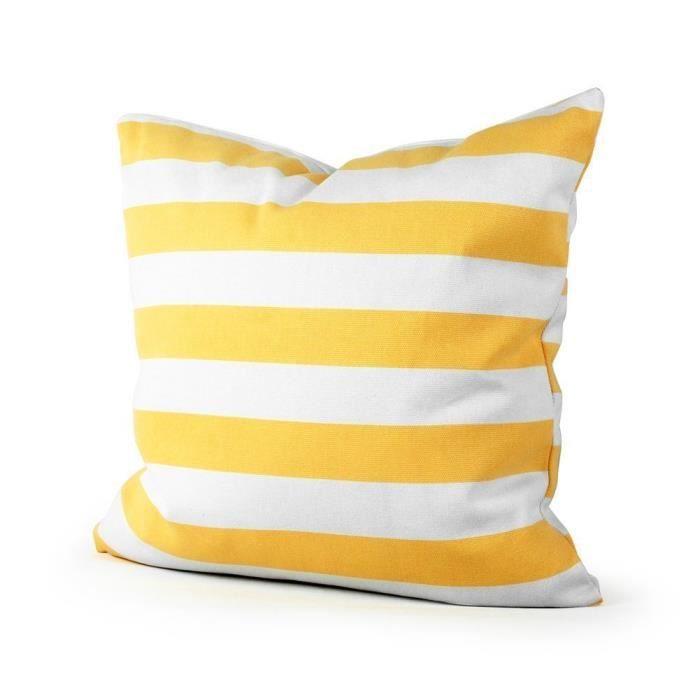 Dreamshop 41x41cm taie d 39 oreiller couverture coussin en for Taie d oreiller pour canape