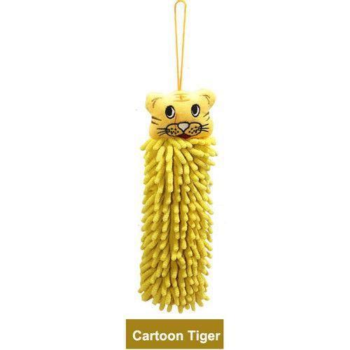 Serviette peluche absorbante jaune tigre achat vente for Accessoire cuisine jaune