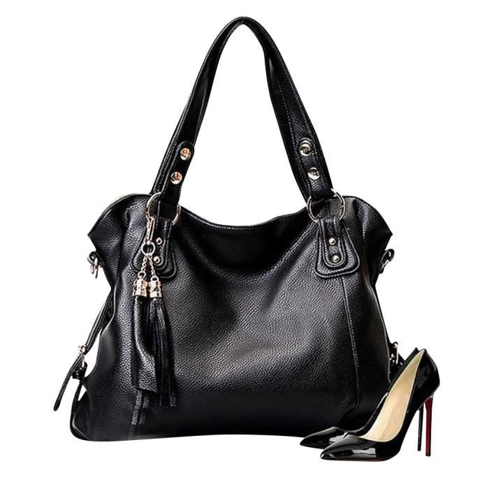 nouveau sacs main bandouli re sac diagonal noir noir achat vente besace sac reporter. Black Bedroom Furniture Sets. Home Design Ideas