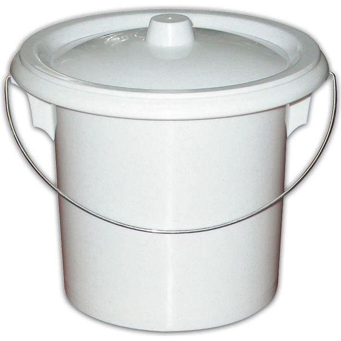 Seau hyginique adulte m canisme chasse d 39 eau wc for Pot de chambre adulte