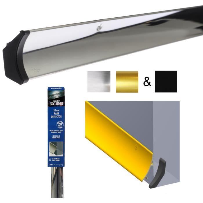 d flecteur pour bas de porte anti pluie et eau 914mm barre embouts achat vente seuil. Black Bedroom Furniture Sets. Home Design Ideas