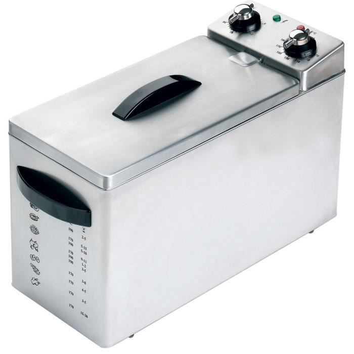 Friteuse 5 litres cuisine electromenager machines for Electromenager restauration