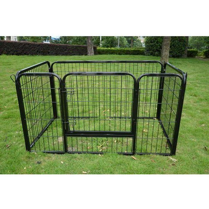 parc enclos pour chiens achat vente parc parc enclos pour chiens cdiscount. Black Bedroom Furniture Sets. Home Design Ideas