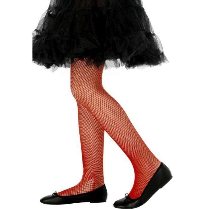 collants enfant resille rouges taille 2 5 ans achat vente collant jambiere les soldes. Black Bedroom Furniture Sets. Home Design Ideas