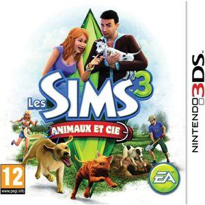 JEU 3DS LES SIMS 3 ANIMAUX ET COMPAGNIE / Jeu 3DS