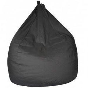 poire pouf adulte gris anthracite achat vente pouf poire soldes cdiscount. Black Bedroom Furniture Sets. Home Design Ideas