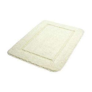 Tapis salle de bain beige achat vente tapis salle de for Tapis salle de bain microfibre