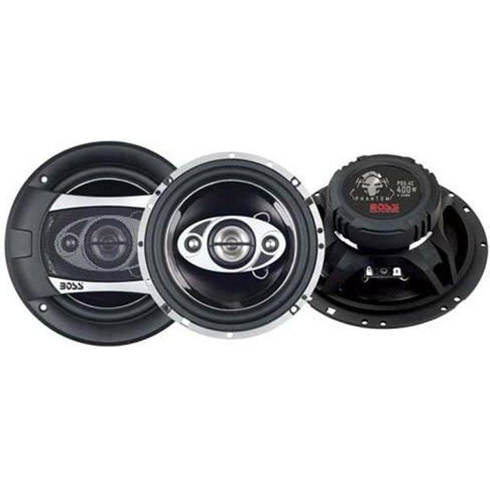 enceintes boss p65 4c 400w haut parleur voiture avis et prix pas cher cdiscount. Black Bedroom Furniture Sets. Home Design Ideas