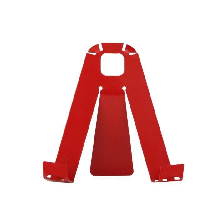 Porte photo a 3 pat rouge achat vente porte photo for Decoration porte rouge