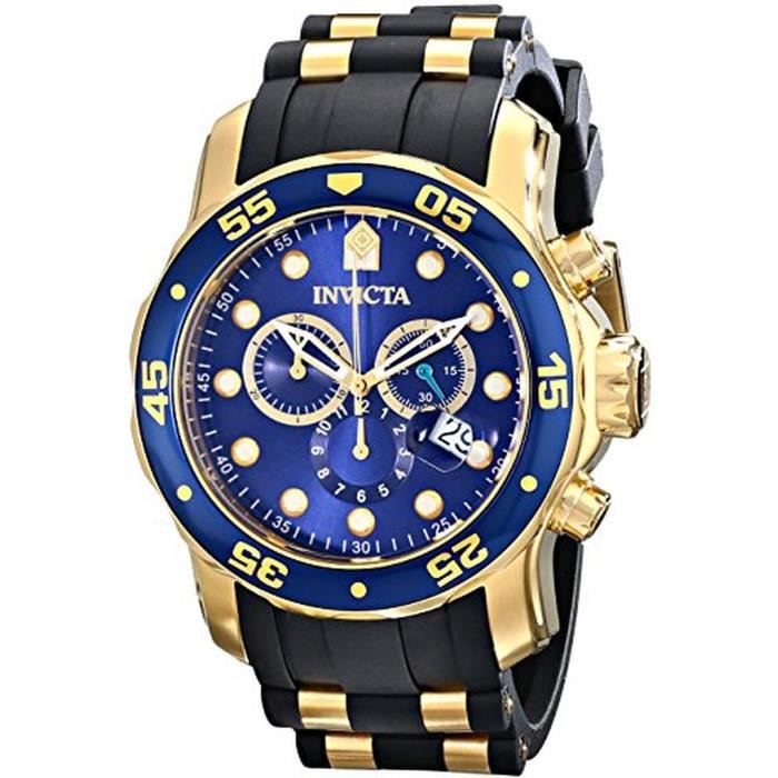 montre invicta achat vente montre montre invicta prix fou 0886678220908 cdiscount. Black Bedroom Furniture Sets. Home Design Ideas