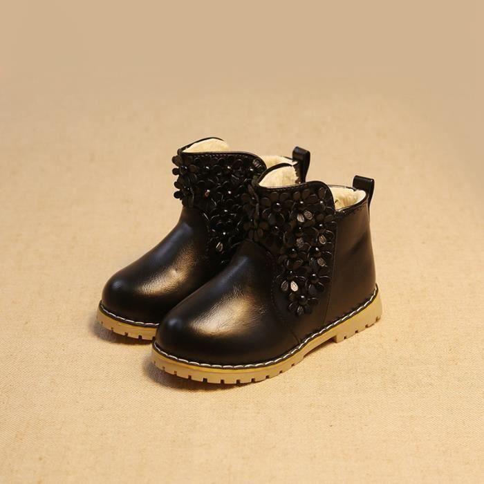 en hiver les chaussures pour enfants fille de prix pas cher cdiscount. Black Bedroom Furniture Sets. Home Design Ideas