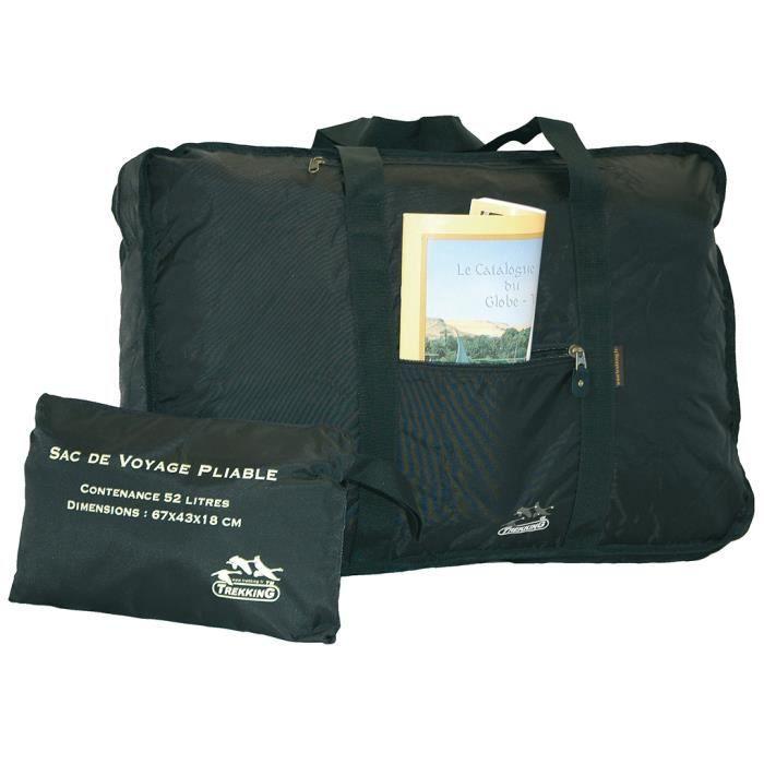 sac de voyage d 39 appoint pliable noir achat vente sac de voyage 3700364219908 cdiscount. Black Bedroom Furniture Sets. Home Design Ideas
