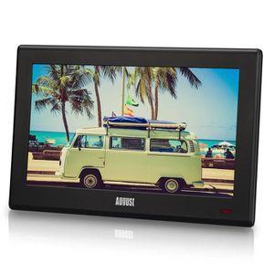 """[Nouvelle Version 2016] August DA100D - Téléviseur Portable 10""""(25,4cm) TNT HD DVBT & DVB-T2 (MPEG4 H.264/H.265) - Télévision Écran"""